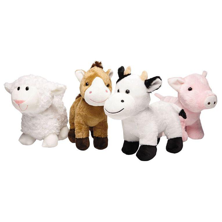 Play Studio Farm Animal Plush 25cm Assorted, , hi-res image number null