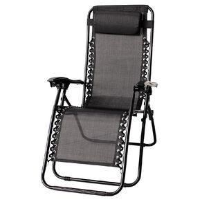 Living & Co Zero Gravity Chair Black One Size
