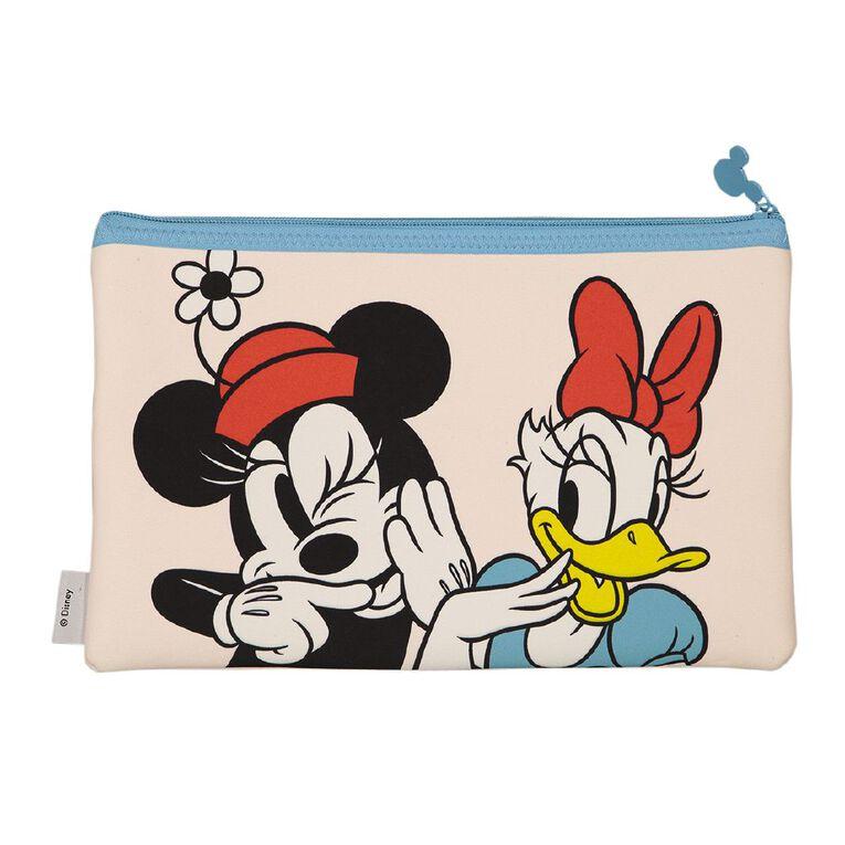 Minnie Mouse Q2 Neoprene Pencil Case Pink, , hi-res