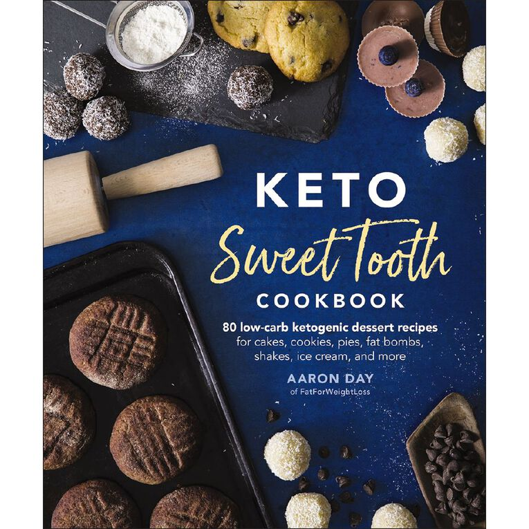 Keto Sweet Tooth Cookbook by Aaron Day, , hi-res