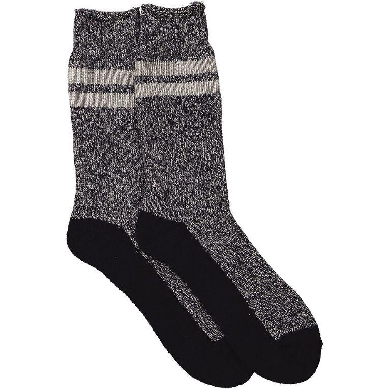 Darn Tough Men's 1.7 Tog Crew Socks 1 Pair, Navy, hi-res