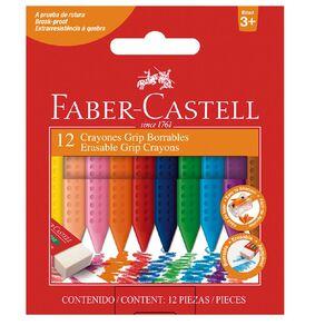 Faber-Castell Jumbo Grip Crayons Box of 12