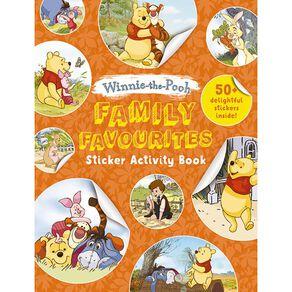 Winnie the Pooh Sticker Activity Book