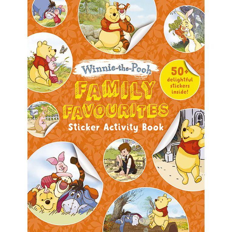 Winnie the Pooh Sticker Activity Book, , hi-res