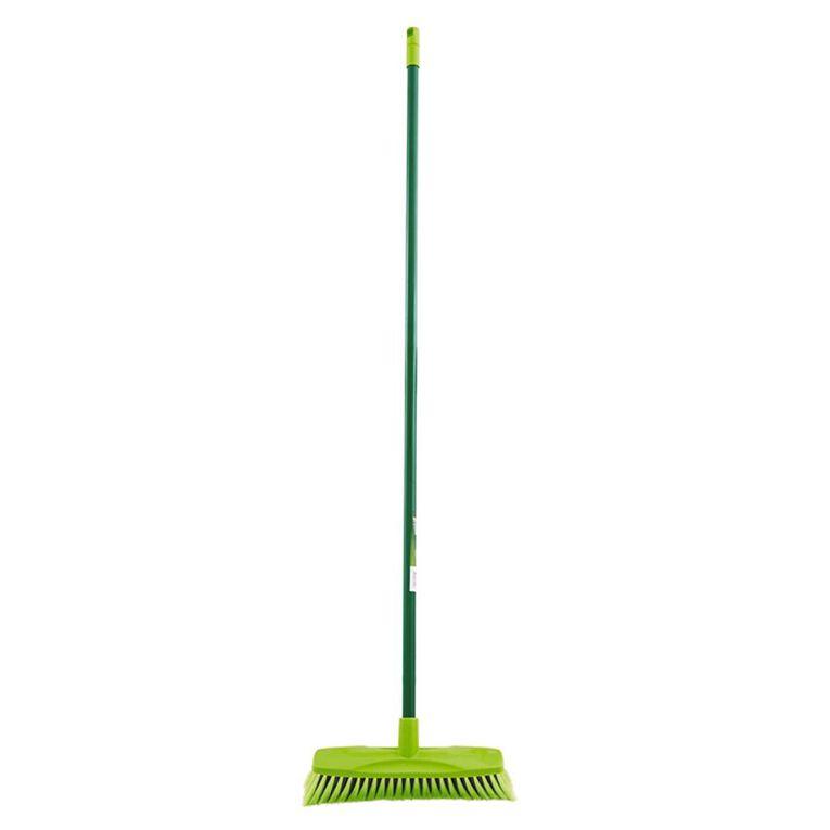 Sabco Medium Duty Indoor Broom Green, , hi-res