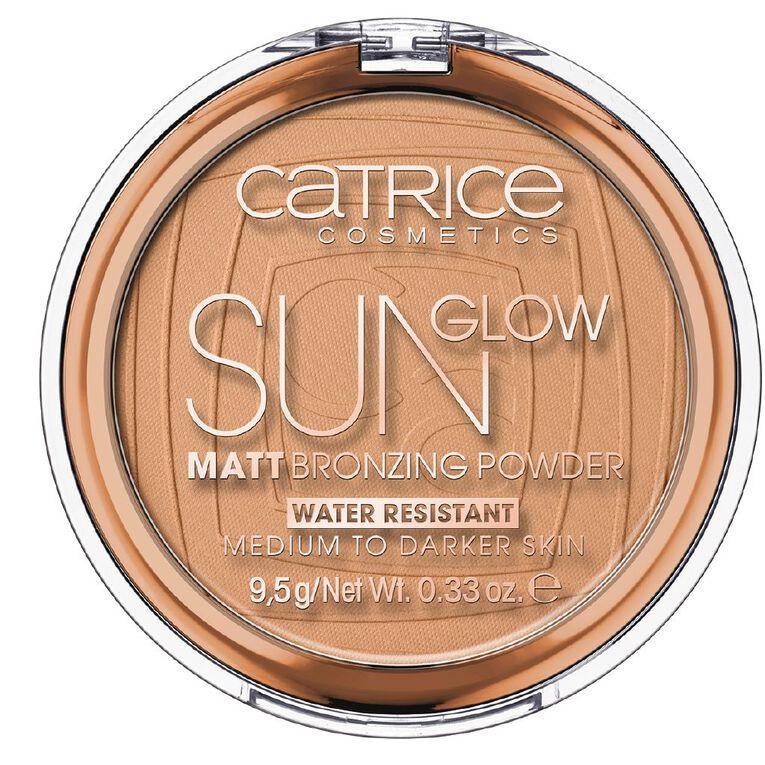 Catrice Sun Glow Matt Bronzing Powder 035, , hi-res image number null