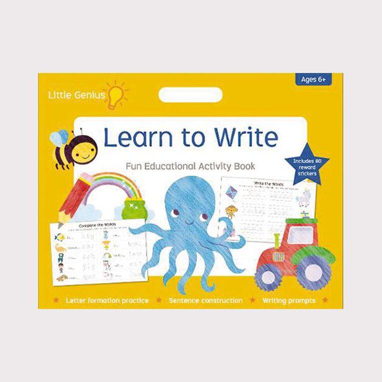Little Genius Learn to Write Mega Pad, , hi-res