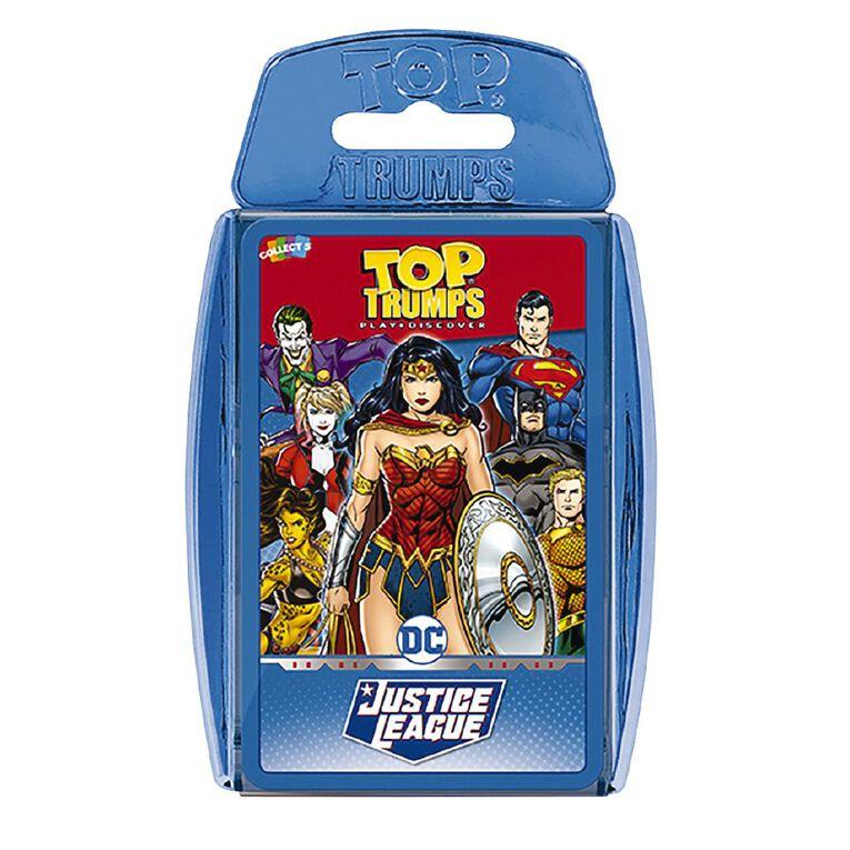 Justice League Top Trumps, , hi-res