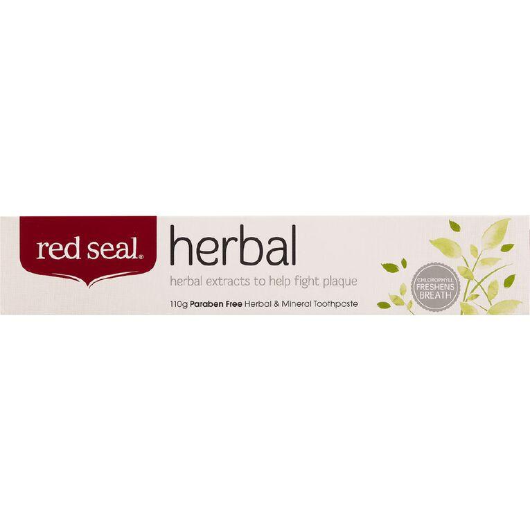 Red Seal Herbal Toothpaste 110g, , hi-res