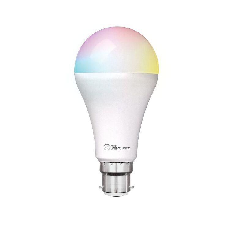 Laser Smart Home WiFi Lightbulb 10W RGB Bayonet B22, , hi-res