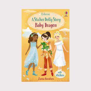 Sticker Dolly Stories #4 Baby Dragon by Zanna Davidson