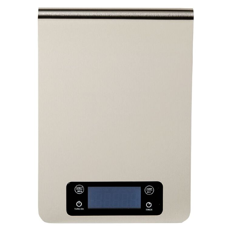 Living & Co Stainless Steel Kitchen Scale 5kg, , hi-res