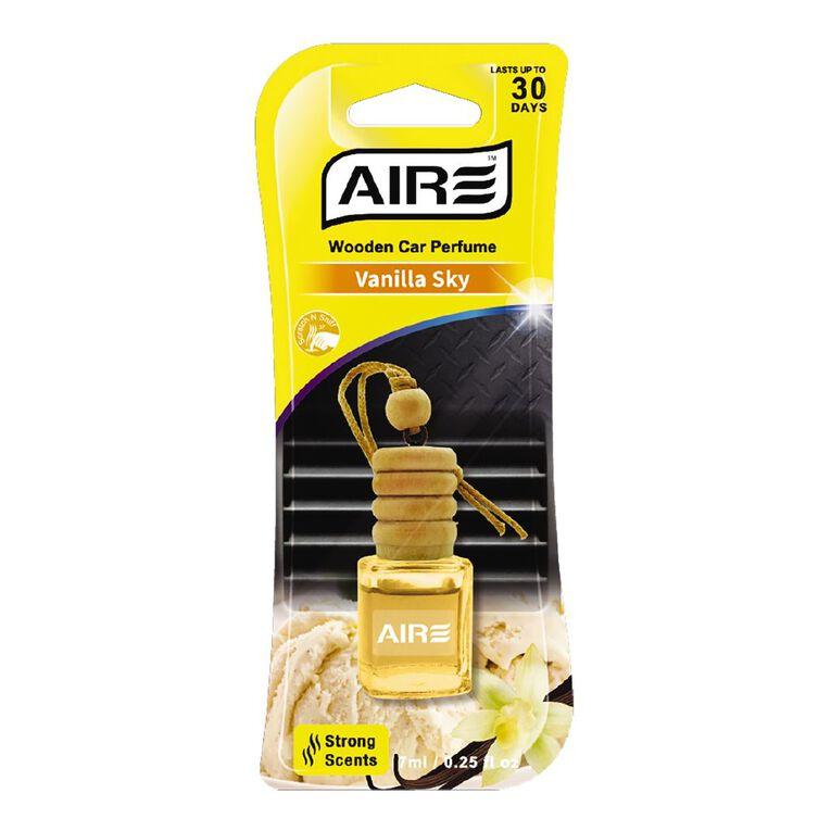 Aromate Wooden Car Perfume 7ml Vanilla Sky, , hi-res