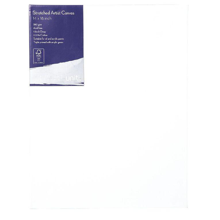 Uniti Platinum Canvas 14x18 Inches 380Gsm, , hi-res