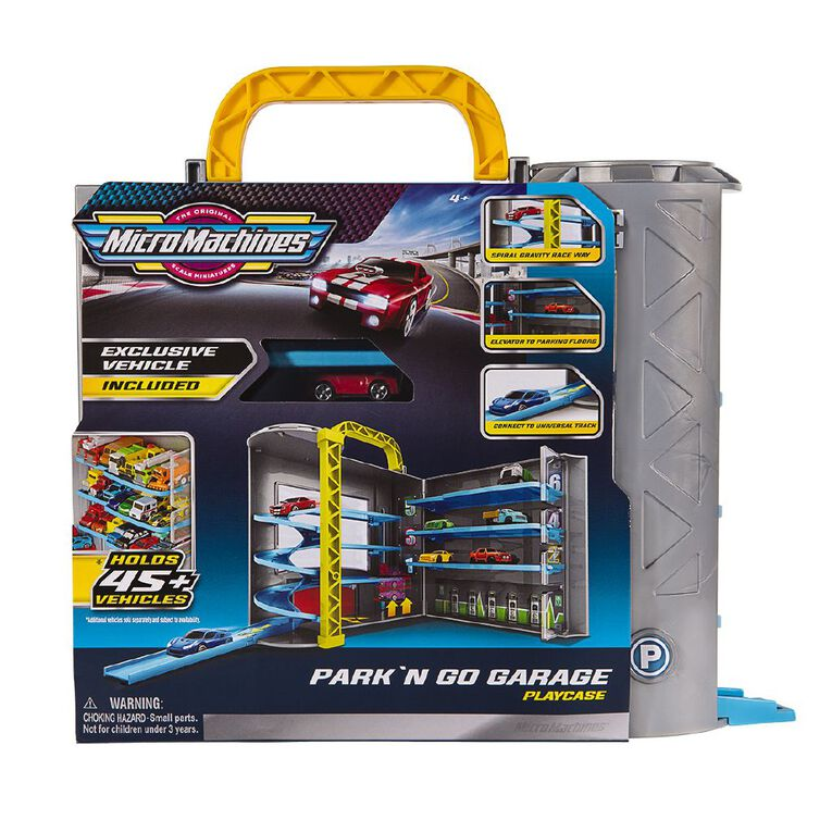 Micro Machines Park Go Garage Playset, , hi-res
