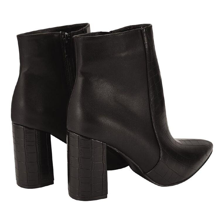 H&H Tina Boots, Black, hi-res