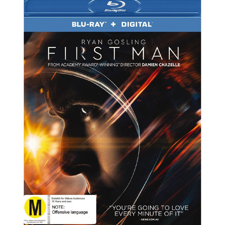 First Man Blu-ray 1Disc, , hi-res