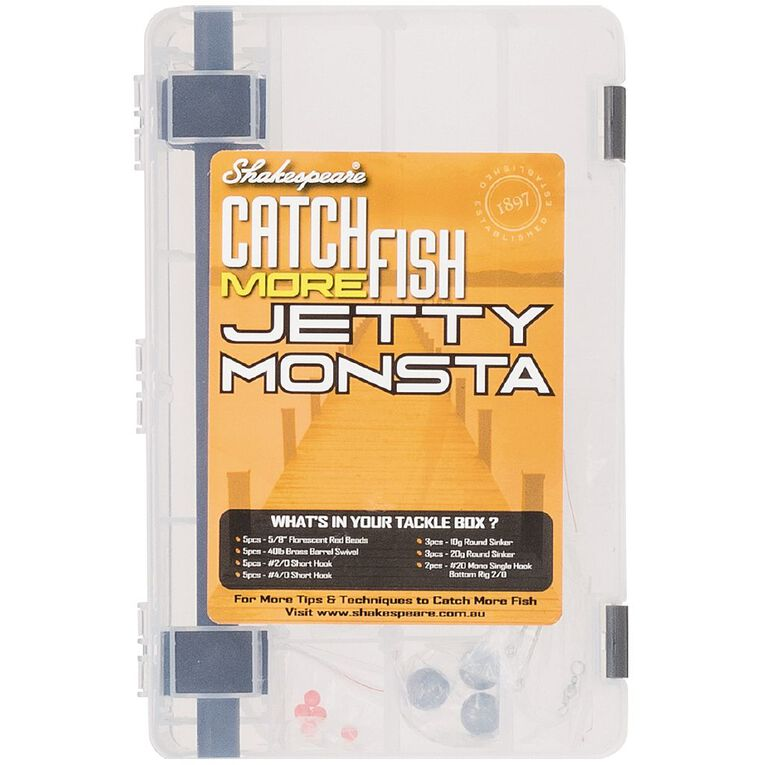 Shakespeare Catch Fish Monsta 8FT 2 Piece 4-8Kg Combo with Tackle Kit, , hi-res