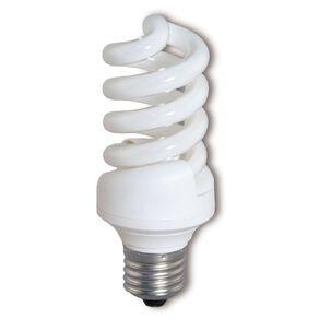 Edapt CFL Mini Spiral E27 Light Bulb 23W Warm White