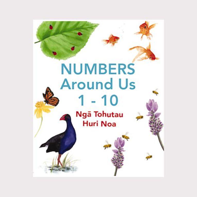 Nga Tohutau Huri Noa Numbers Around Us 1-10 by Katie Kool, , hi-res