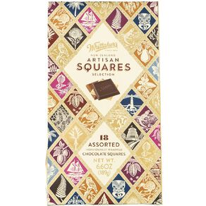 Whittaker's Boxed Assorted NZ Artisan Squares 18 Piece 189g