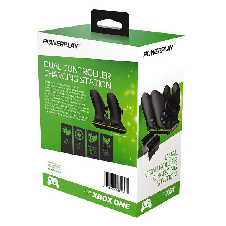 PowerPlay Xbox One Dual Charging Station Black, , hi-res