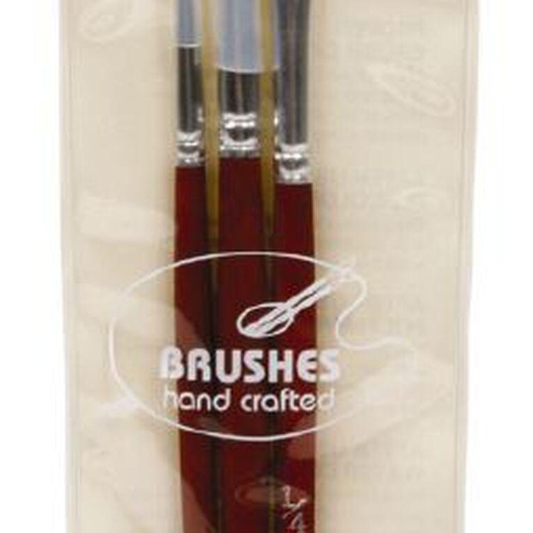 DAS Brush Set Das Red Sable Round, , hi-res