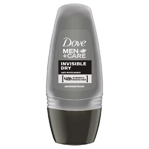 Dove For Men Roll On Deodorant Invisible Dry 50ml