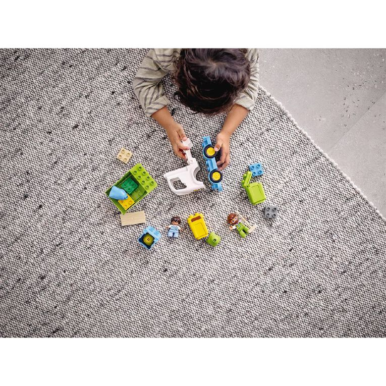 LEGO DUPLO Garbage Truck and Recycling, , hi-res
