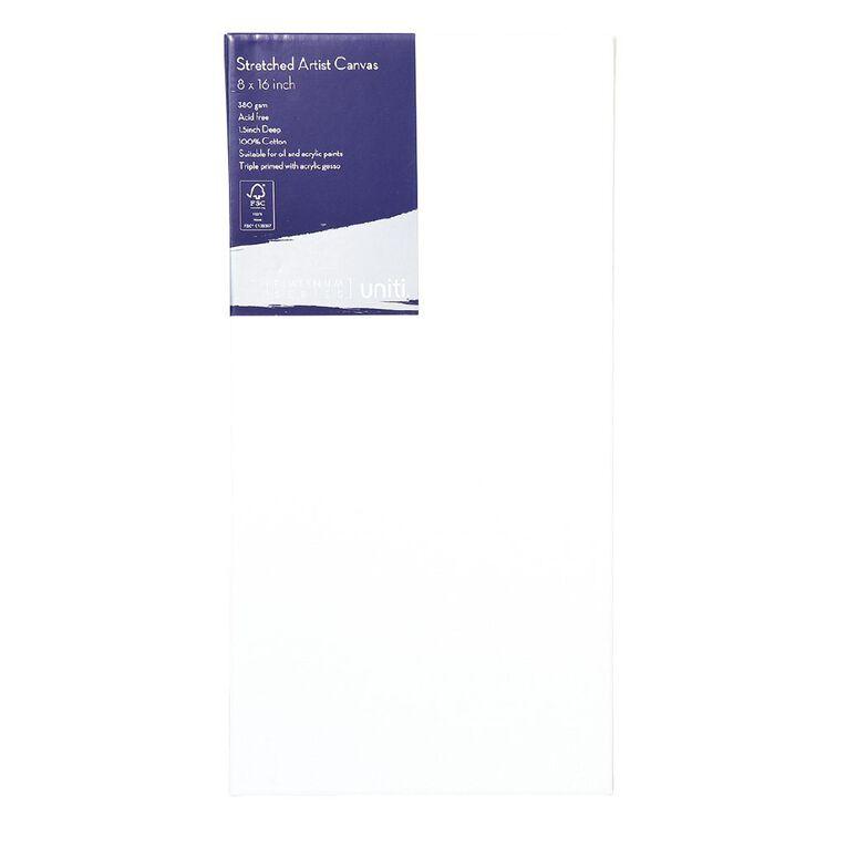 Uniti Platinum Canvas 8x16 Inches 380Gsm, , hi-res