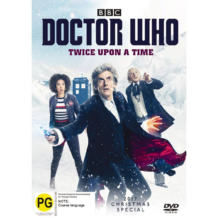 Doctor Who (2017) Twice Upon A Time DVD 1Disc, , hi-res