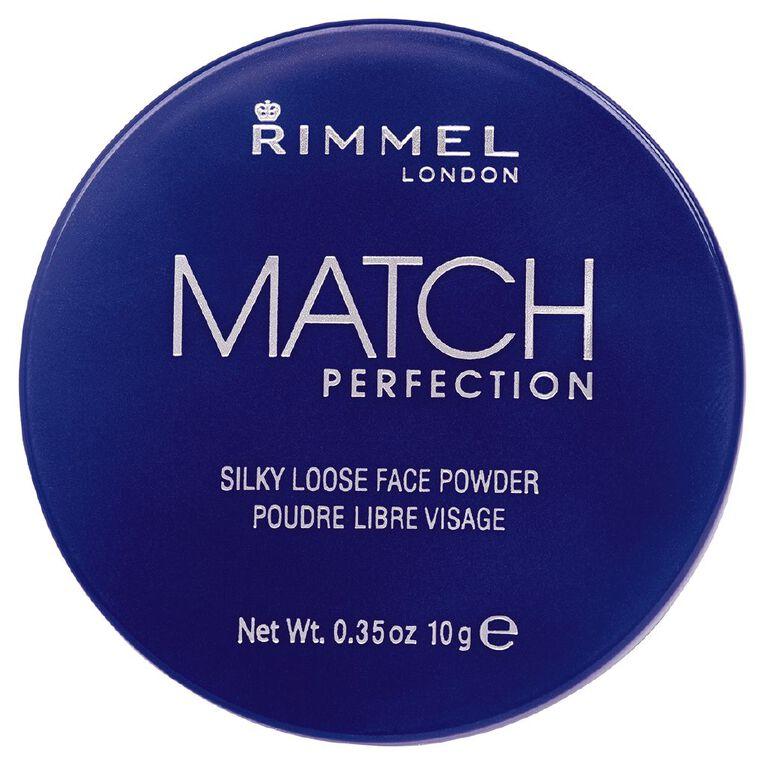 Rimmel Match Perfection Loose Powder Translucent, , hi-res