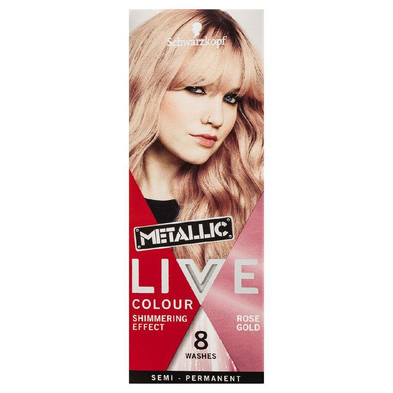 Schwarzkopf LIVE Colour Ultra Bright's Metallic Rose Gold, , hi-res