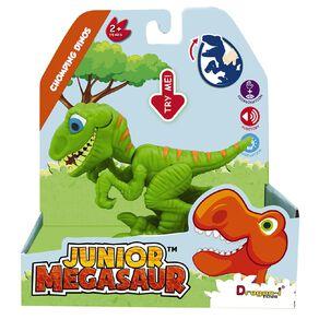 Junior Megasaur Chomping Dino 3 Assorted