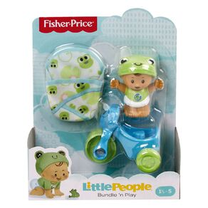Fisher-Price Little People Babies Bundle n' Play Gear Pack Assorted