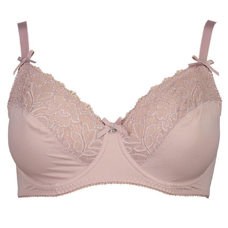 H&H Women's Belle DD-G Underwire Bra, Pink, hi-res