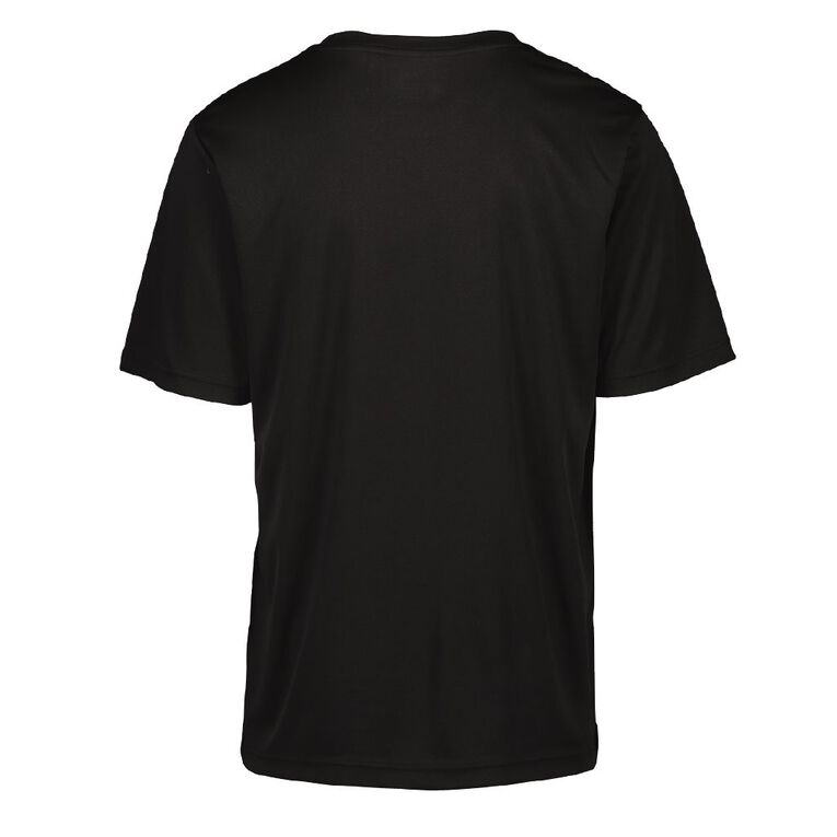Active Intent Men's Cooldry Tee, Black, hi-res