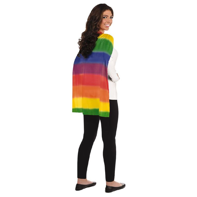 Amscan Cape Rainbow One Size, , hi-res