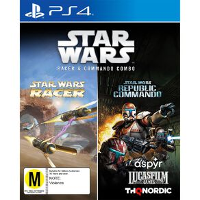 PS4 Star Wars Racer and Republic Commando (Combo)