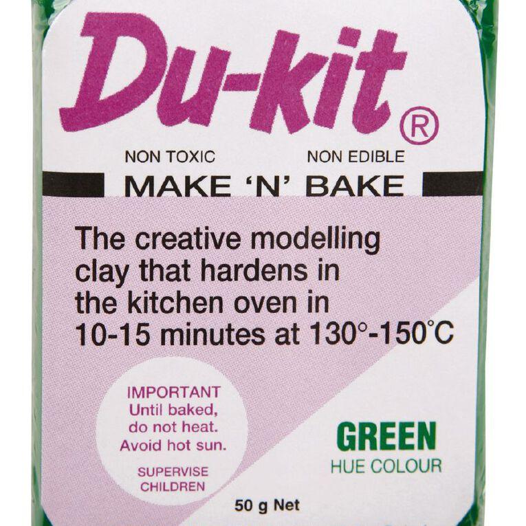 Du-kit Clay Mid Green 50g, , hi-res