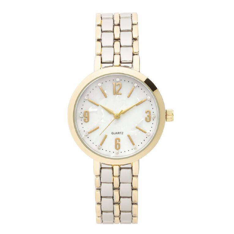 Eternity Women Analogue Watch Two Tone Gold & Silver, , hi-res image number null
