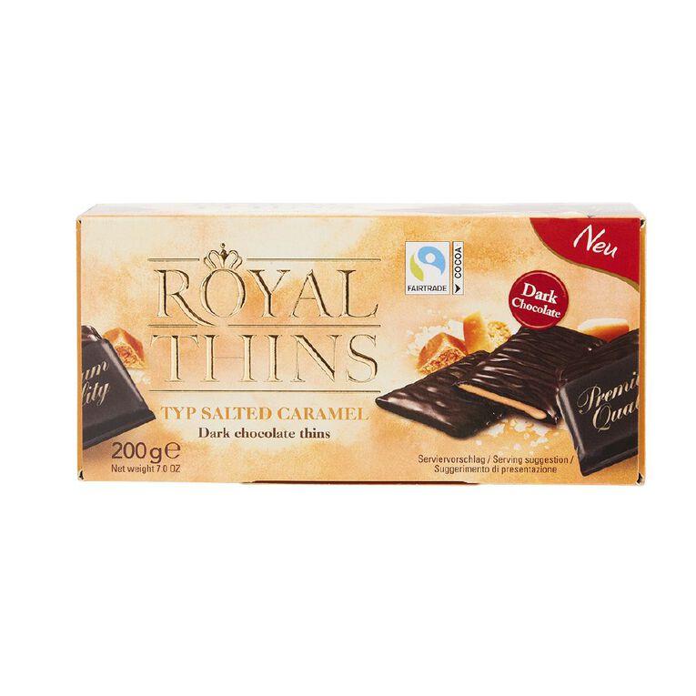 Royal Thins Caramel & Sea Salt, , hi-res