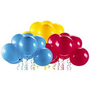Zuru Bunch O Balloons Self-Sealing Balloons Refill Red/Blue/Yel 24 Pack