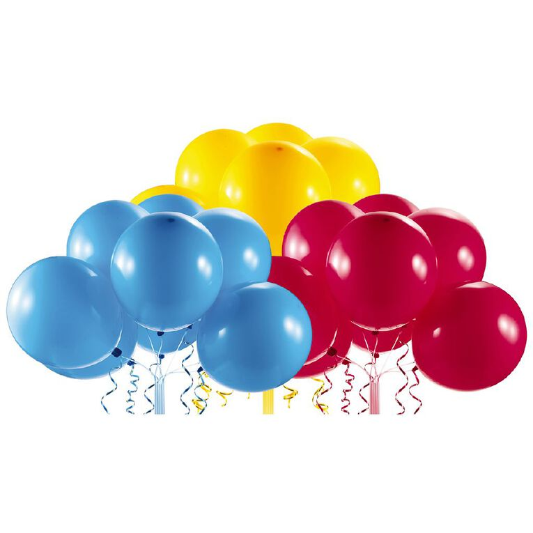 Zuru Bunch O Balloons Self-Sealing Balloons Refill Red/Blue/Yel 24 Pack, , hi-res