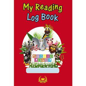 GT My Reading Log Junior Red