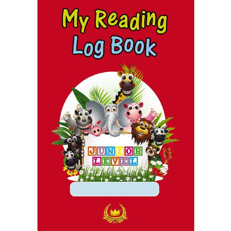 GT My Reading Log Junior Red, , hi-res