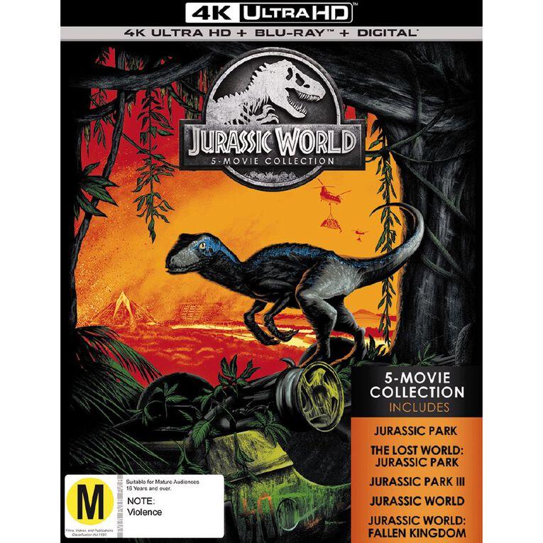 Jurassic 5 Movie Pack 4K Blu-ray 5Disc, , hi-res