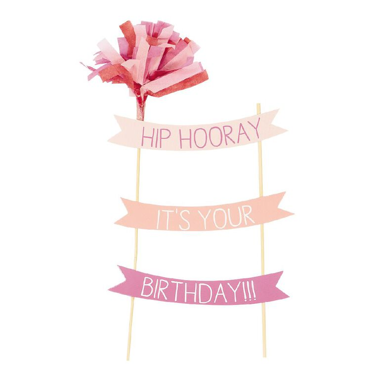 Party Inc Party Birthday Cake Topper, , hi-res image number null