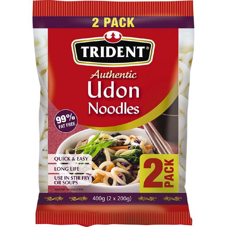Trident Udon Noodles 2 Pack, , hi-res