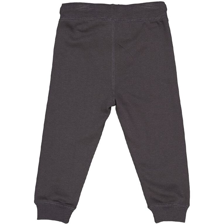 Young Original Toddler Printed Trackpants, Grey Dark, hi-res